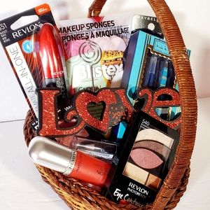Valentines Gift Basket $70 Makeup Bundle